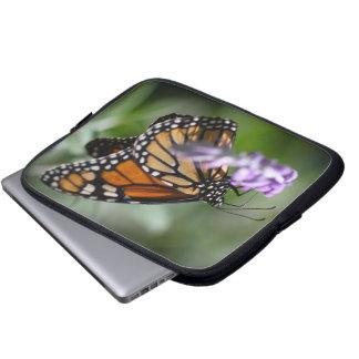 Monarch Danaus Plexippus Laptop Computer Sleeves