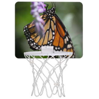 Monarch Danaus Plexippus Mini Basketball Hoop