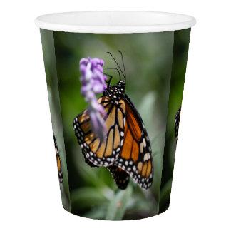 Monarch Danaus Plexippus Paper Cup