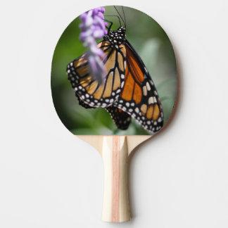 Monarch Danaus Plexippus Ping Pong Paddle