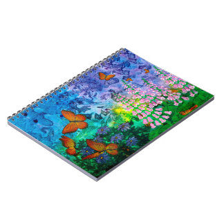 Monarch Haven 6.5 x 8.75 Notebook