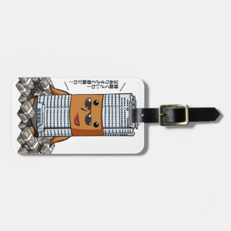 Monarch Hills English story Roppongi Hills Tokyo Luggage Tag