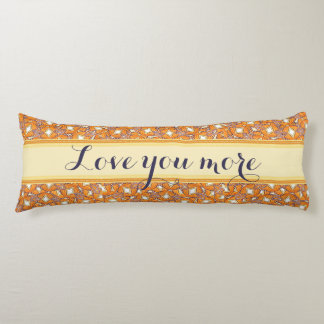 Monarch Love You More Body Pillow