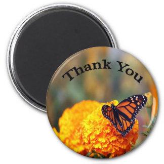 Monarch Marigold Magnet