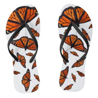 Monarch Medley Flip Flops (Choose colour)