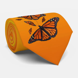 Monarch Medley Tie (Light/Dark Orange)