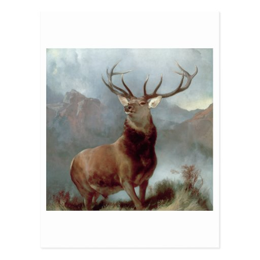 Monarch of the Glen, 1851 Post Card