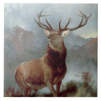 Monarch of the Glen, 1851 Tile