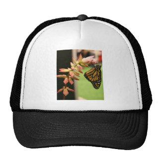 Monarch on Flower Trucker Hat