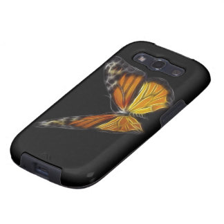 Monarch Orange Butterfly Flying Insect Galaxy S3 Covers