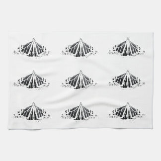 monarch outline kitchen towels