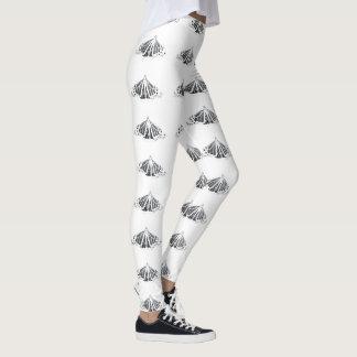 Monarch outline leggings