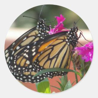 Monarch Twins #1-stickers Classic Round Sticker