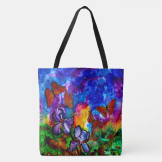 Monarchs at Sunset Tote