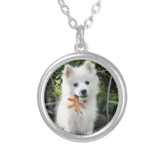 MONA'S DESIGNS SILVER PLATED NECKLACE