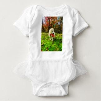 MONA'S LEAF BABY BODYSUIT