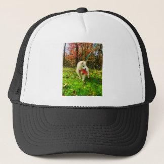 MONA'S LEAF TRUCKER HAT