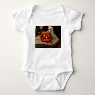 MONA'S PUMPKIN BABY BODYSUIT