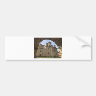 Monastery in Serbia Bumper Sticker