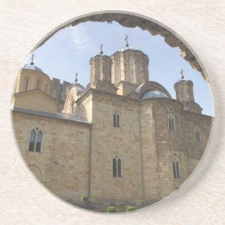 Monastery in Serbia Coaster