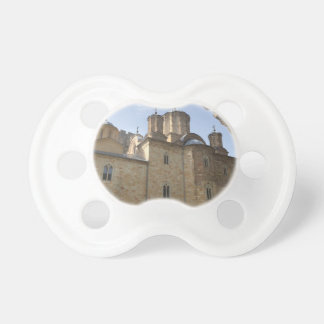 Monastery in Serbia Pacifier