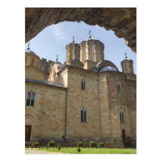 Monastery in Serbia Postcard
