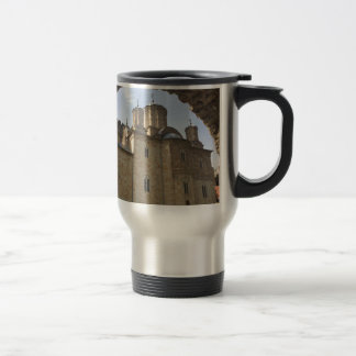 Monastery in Serbia Travel Mug
