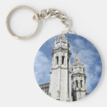 Monastery of Jeronimos, Lisbon, Portugal Basic Round Button Keychain