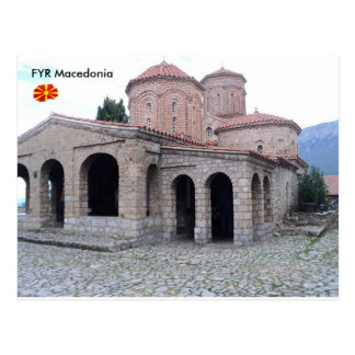 Monastery of St. Naum, FYR Macedonia. Postcard