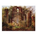 Monastery Ruins at Eldena by Friedrich Postcard