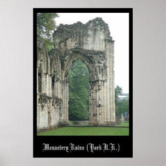 Monastery (York) Poster
