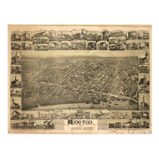 Moncton New Brunswick Canada (1888) Postcard