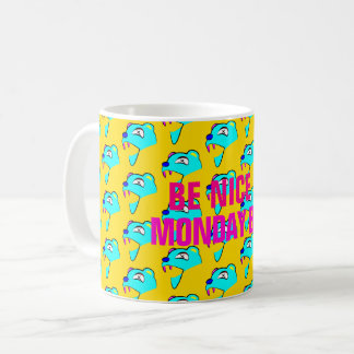 Monday Bear Coffee Mug