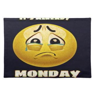 Monday Blues Placemat