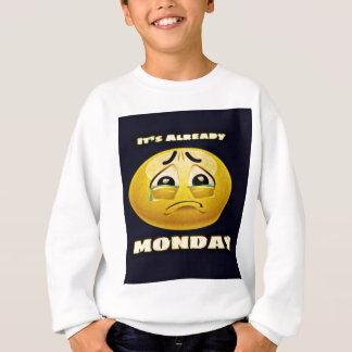 Monday Blues Sweatshirt