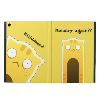Monday Cat iPad case