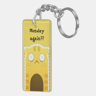 Monday Cat keychain #2