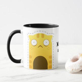 Monday Cat mug