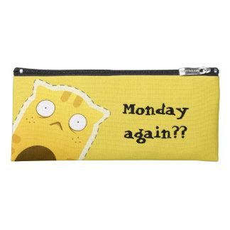 Monday Cat pencil case