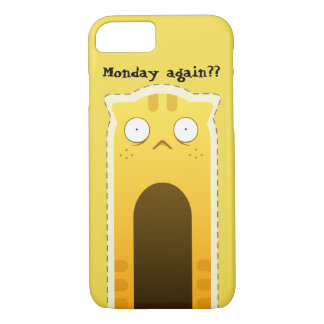Monday Cat smartphone case