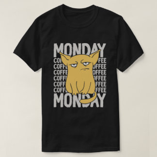 Monday Checklist (Coffee, Coffee, Coffee...) T-Shirt