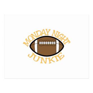 Monday Night Junkie Postcard