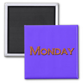 Monday Teaching or Memory Aid Magnet