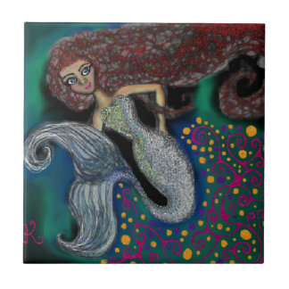 Monday the Mermaid. Tile