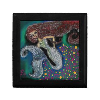 Monday the Mermaid. Trinket Boxes