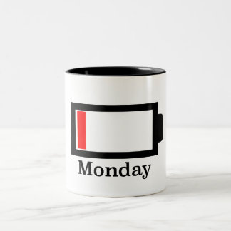 Monday Two-Tone Coffee Mug