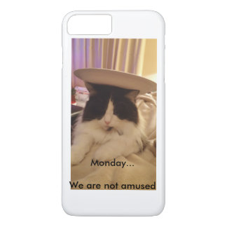 Monday... We are not Amused iPhone 7 Plus Case