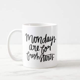 """Mondays"" - Classic White Mug"
