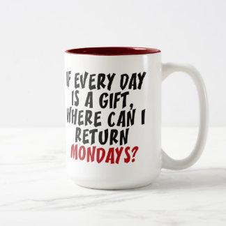 Mondays mugs
