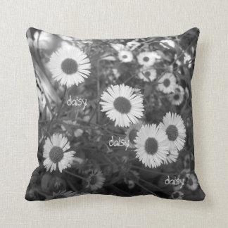 Mondern monochrome daisy cushion